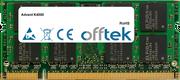 K4000 2GB Modul - 200 Pin 1.8v DDR2 PC2-4200 SoDimm