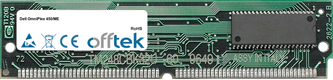 OmniPlex 450/ME 64MB Satz (2x32MB Module) - 72 Pin 5v EDO Non-Parity Simm