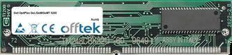 OptiPlex GsL/GsM/GsMT 5200 64MB Satz (2x32MB Module) - 72 Pin 5v EDO Non-Parity Simm