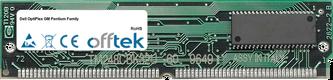 OptiPlex GM Pentium Family 64MB Satz (2x32MB Module) - 72 Pin 5v EDO Non-Parity Simm