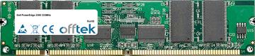 PowerEdge 2300 333MHz 256MB Modul - 168 Pin 3.3v PC100 ECC Registered SDRAM Dimm