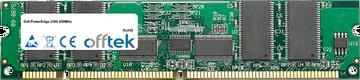 PowerEdge 2300 450MHz 256MB Modul - 168 Pin 3.3v PC100 ECC Registered SDRAM Dimm