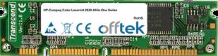 Color LaserJet 2820 All-In-One Serie 128MB Modul - 100 Pin 3.3v SDRAM PC133 SoDimm