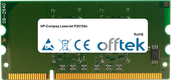 LaserJet P2015dn 256MB Modul - 144 Pin 1.8v DDR2 PC2-3200 SoDimm