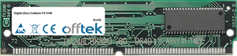 Celebris FX 5166 64MB Satz (2x32MB Module) - 72 Pin 5v EDO Non-Parity Simm