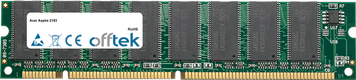Aspire 2193 128MB Modul - 168 Pin 3.3v PC100 SDRAM Dimm