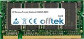 Presario Notebook V4325US (DDR) 1GB Modul - 200 Pin 2.5v DDR PC333 SoDimm