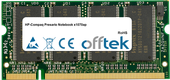 Presario Notebook X1070ap 1GB Modul - 200 Pin 2.5v DDR PC266 SoDimm