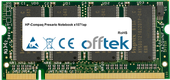 Presario Notebook X1071ap 1GB Modul - 200 Pin 2.5v DDR PC266 SoDimm