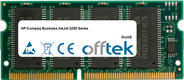 Business InkJet 2250 Serie 64MB Modul - 144 Pin 3.3v PC100 SDRAM SoDimm