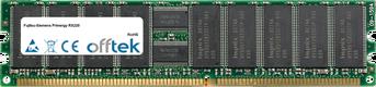 Primergy RX220 4GB Satz (2x2GB Module) - 184 Pin 2.5v DDR400 ECC Registered Dimm (Dual Rank)