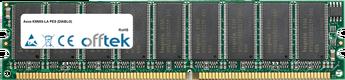 K8N8X-LA PES (DIABLO) 512MB Modul - 184 Pin 2.6v DDR400 ECC Dimm (Dual Rank)
