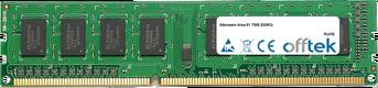 Area-51 7500 (DDR3) 2GB Modul - 240 Pin 1.5v DDR3 PC3-8500 Non-ECC Dimm