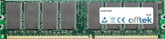 BE7-RAID 1GB Modul - 184 Pin 2.5v DDR266 Non-ECC Dimm