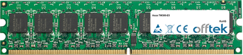 TW300-E5 1GB Satz (2x512MB Module) - 240 Pin 1.8v DDR2 PC2-6400 ECC Dimm (Single Rank)