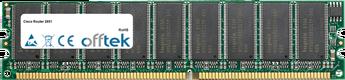 Router 2851 512MB Modul - 184 Pin 2.5v DDR266 ECC Dimm