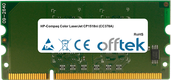 Color LaserJet CP1518ni (CC378A) 256MB Modul - 144 Pin 1.8v DDR2 PC2-3200 SoDimm