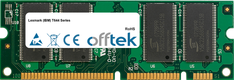 T644 Serie 512MB Modul - 100 Pin 2.5v DDR PC2100 SoDimm