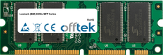 X850e MFP Serie 512MB Modul - 100 Pin 2.5v DDR PC2100 SoDimm