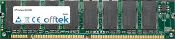 Brio 8434 128MB Modul - 168 Pin 3.3v PC100 SDRAM Dimm
