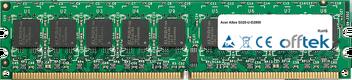 Altos G320-U-D2800 2GB Modul - 240 Pin 1.8v DDR2 PC2-4200 ECC Dimm (Dual Rank)