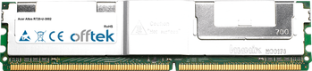 Altos R720-U-3002 4GB Satz (2x2GB Module) - 240 Pin 1.8v DDR2 PC2-5300 ECC FB Dimm