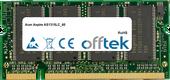 Aspire AS1315LC_60 512MB Modul - 200 Pin 2.5v DDR PC333 SoDimm