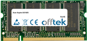 Aspire AS1605 512MB Modul - 200 Pin 2.5v DDR PC333 SoDimm