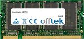Aspire AS1700 256MB Modul - 200 Pin 2.5v DDR PC266 SoDimm