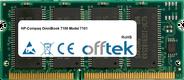 OmniBook 7100 Model 7101 128MB Modul - 144 Pin 3.3v PC66 SDRAM SoDimm