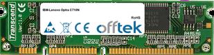 Optra C710N 128MB Modul - 100 Pin 3.3v SDRAM PC100 SoDimm