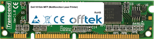 1815dn MFP (Multifunction Laser Printer) 128MB Modul - 100 Pin 3.3v SDRAM PC100 SoDimm