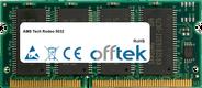 Tech Rodeo 5032 64MB Modul - 144 Pin 3.3v PC66 SDRAM SoDimm