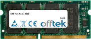 Tech Rodeo 5042 64MB Modul - 144 Pin 3.3v PC66 SDRAM SoDimm
