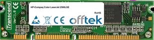 Color LaserJet 2500LSE 128MB Modul - 100 Pin 3.3v SDRAM PC100 SoDimm