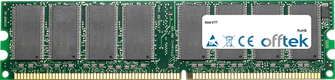 VT7 1GB Modul - 184 Pin 2.6v DDR400 Non-ECC Dimm