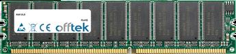 UL8 1GB Modul - 184 Pin 2.6v DDR400 ECC Dimm (Dual Rank)