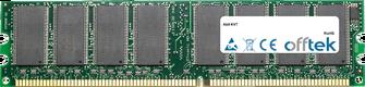 KV7 1GB Modul - 184 Pin 2.6v DDR400 Non-ECC Dimm