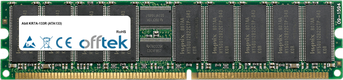 KR7A-133R (ATA133) 1GB Modul - 184 Pin 2.5v DDR266 ECC Registered Dimm (Single Rank)