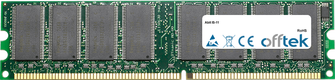 IS-11 1GB Modul - 184 Pin 2.5v DDR333 Non-ECC Dimm
