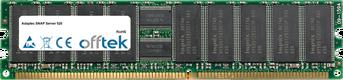 SNAP Server 520 1GB Modul - 184 Pin 2.5v DDR400 ECC Registered Dimm