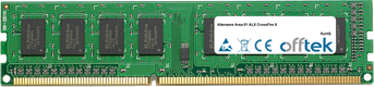 Area-51 ALX CrossFire X 4GB Modul - 240 Pin 1.5v DDR3 PC3-8500 Non-ECC Dimm