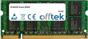 Notino W5800 2GB Modul - 200 Pin 1.8v DDR2 PC2-5300 SoDimm
