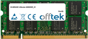 Ultinote A9800SR_01 2GB Modul - 200 Pin 1.8v DDR2 PC2-5300 SoDimm