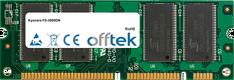 FS-3900DN 512MB Modul - 100 Pin 2.5v DDR PC2100 SoDimm