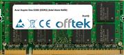 Aspire One D260 (DDR2) (Intel Atom N450) 2GB Modul - 200 Pin 1.8v DDR2 PC2-5300 SoDimm