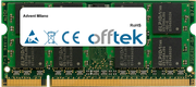 Milano 2GB Modul - 200 Pin 1.8v DDR2 PC2-5300 SoDimm