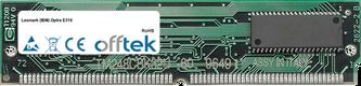 Optra E310 64MB Modul - 72 Pin 5v EDO Non-Parity Simm