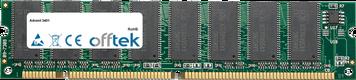 3401 256MB Modul - 168 Pin 3.3v PC100 SDRAM Dimm
