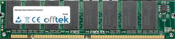 Grey (Celeron Processor) 256MB Modul - 168 Pin 3.3v PC133 SDRAM Dimm